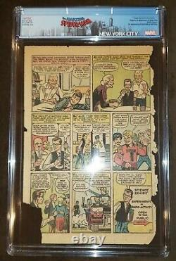 AMAZING FANTASY 15 CGC PG PAGE 1 ONLY 1962 STAN LEE 1st APPEARANCE OF SPIDER-MAN