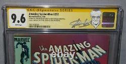 AMAZING SPIDER-MAN #252 (Black Costume, Signed x5 Stan Lee) CGC 9.6 1984 Venom