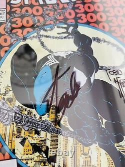 AMAZING SPIDER-MAN #300 CGC 9.8 SIGNED 2X STAN LEE TODD McFARLANE 1st VENOM