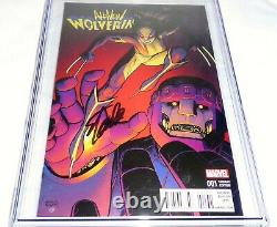 All-New Wolverine #1 CGC SS Signature Autograph STAN LEE Retailer Incentive 9.8