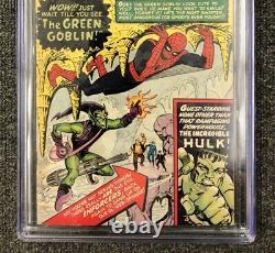 Amazing Spider-Man #14 CGC 4.5 VG+ 1964 Stan Lee Green Goblin Hulk Marvel