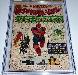 Amazing Spider-Man #19 CGC SS Signature Autograph STAN LEE Human Torch ASM