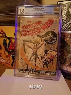Amazing Spider-Man 1 CGC GRAIL 1963 key issue marvel Stan lee rare