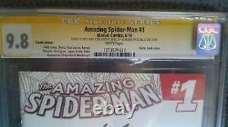 Amazing Spider-Man #1 CGC SS 9.8 Sketch/Signature STAN LEE JOHN ROMITA