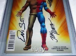 Amazing Spider-Man #1 CGC SS Signature Autograph STAN LEE C. O. B. R. A. Variant CVR