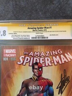 Amazing Spider-Man #1 Signed By Stan Lee 9.8 Cgc