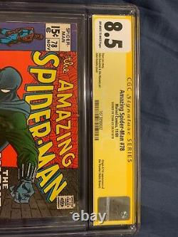 Amazing Spider-Man (1st Series) #78 1969 CGC SS FIRST PROWLER APPEARANCE STAN