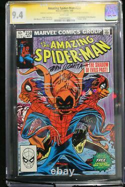 Amazing Spider-Man #238 CGC 9.4 STAN LEE, ROMITA, ROMITA JR 3X SIGNED! (Marvel)