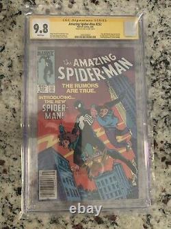 Amazing Spider-Man #252 NEWSSTAND CGC 9.8 SS SIGNED STAN LEE