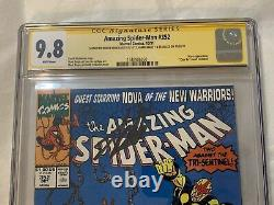 Amazing Spider-Man #352 (1991) CGC SS 9.8 Signed by Stan Lee, Bagley, Emberlin