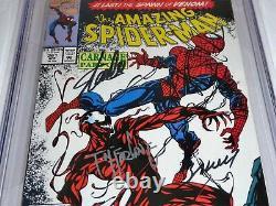 Amazing Spider-Man #361 CGC SS Signature Autograph STAN LEE TODD MCFARLANE 9.8
