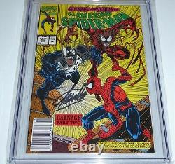 Amazing Spider-Man #362 2x Signature CGC SS 9.8 STAN LEE BAGLEY Spidey Sketch