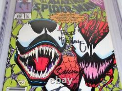 Amazing Spider-Man #363 3x Signature Autograph CGC SS 9.8 STAN LEE Venom Carnage
