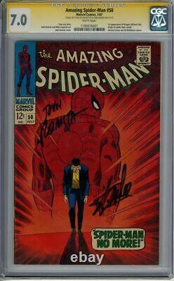 Amazing Spider-Man #50 CGC 7.0 SS 2X Stan Lee & John Romita 1st Kingpin