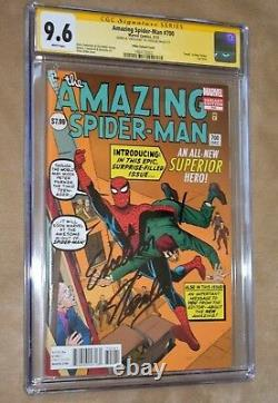 Amazing Spider-Man # 700 DITKO Variant CGC SS 9.6 & EXCELSIOR STAN LEE