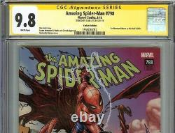 Amazing Spider-Man #798 CGC 9.8 SIGNED STAN LEE Variant Edition 1st RED GOBLIN