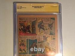 Amazing Spider-man 15 CGC PG (1st Page only) Signed by Stan Lee