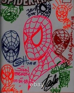 Amazing Spider-man 1 Cgc Ss 9.8 Stan Lee Bagley Horn Beatty Bellman Lydic &more