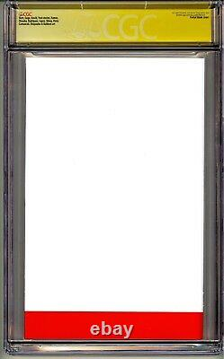 Amazing Spider-man #1 Cgc Ss 9.8 Stan Lee Quote Comment With Great Power Comes