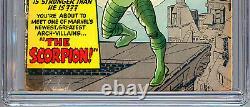Amazing Spider-man #20 Cgc 0.5 Origin & 1st Scorpion Stan Lee Steve Ditko 1965