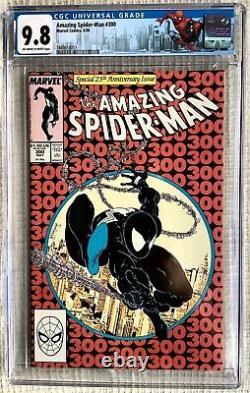 Amazing Spider-man # 300 CGC 9.8 Stan Lee, Todd Mcfarlane 1st Venom, 252 Black