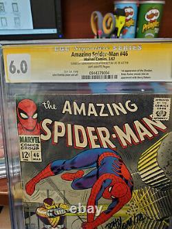 Cgc Ss 6.0 Amazing Spider-man #46- Signed By Romita Sr & Stan Lee