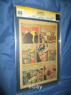DAREDEVIL #1 CGC PG PAGE SS Signed by Stan LeeOrigin 1964 1st Karen Page/Foggy