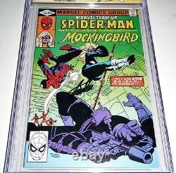 Marvel Team-Up #95 CGC SS Signature Autograph STAN LEE 1st Mockingbird Nick Fury