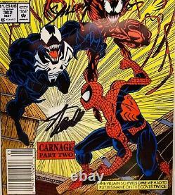 SPIDER-MAN #362 CGC 9.8 SS Stan Lee & Bagley 1st Carnage Venom Cover Newsstand