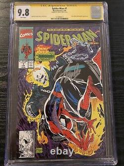 Spider-Man #7 CGC 9.8 SS Signed Stan Lee Todd McFarlane story, cover & art