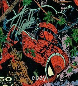 Spider-man #8 Cgc 9.8 Wp Ss Signed By Stan Lee-mcfarlane Art! Wolverine/wendigo