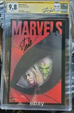Spiderman. Marvels 9.8 #4 stan Lee label. Signed by Stan Lee. Very rare