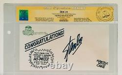 Stan Lee Signed Original Marvel No-prize Envelope Cgc Signature Series