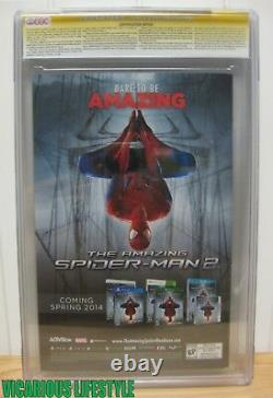 The Amazing Spider-Man 1 Marvel 2014 CGC 9.4 1200 Opena Variant Stan Lee Signed