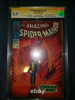 The Amazing Spider-Man #50 first appearance of king pin signed by Stan Lee