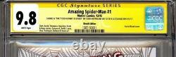 The Amazing Spider-man #1 Cgc Ss 9.8 Stan Lee Signed Inscribed By Todd Mcfarlane
