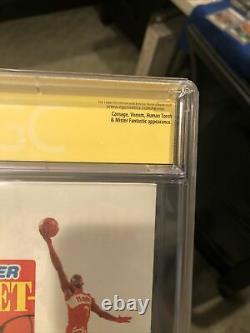 The Amazing Spider-man #363 Cgc 9.6 Signed By Stan Lee / David Michelinie -venom