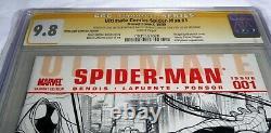 Ultimate Comics Spider-Man #1 CGC SS 9.8 Signature Autograph STAN LEE Vip Comic