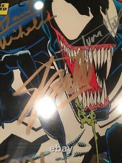 Venom Lethal Protector #1 GOLD CGC 9.8 SS Stan Lee Tom Holland Macfarlane 6x SIG
