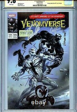 Venomverse 1 CGC 9.8 SS X3 Amazing Spider-Man 361 homage Stan Lee Crain sketch