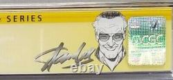 Web of Spider-Man #1 (1985 1st Series) CGC Signed by Stan Lee