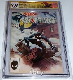 Web of Spider-Man #1 CGC SS Signature Autograph STAN LEE 1st App Vulturians