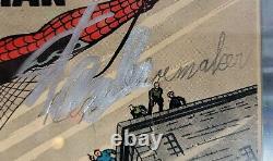 Amazing Fantasy 15 Cgc 2.5 Ss Stan Lee Grail 1er Spider-man Check Descp. Ty