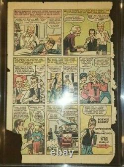 Amazing Fantasy 15 Cgc Pg Page 1 Seulement 1962 Stan Lee 1ère Apparance De L'homme-spider