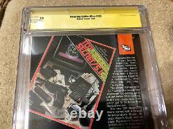 Amazing Spider Man 300 Cgc 9.4 Ss Stan Lee Auto 5/1988 Mcfarlane 1er Venom