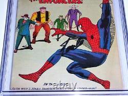 Amazing Spider-man #10 Cgc Ss Signature Autograph Stan Lee 1er Big Man Enforcer