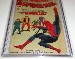 Amazing Spider-man #10 Cgc Ss Signature Autographe Stan Lee 1st Big Man Forces