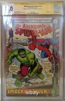 Amazing Spider-man #119 Cgc 8.0 2x Ss Stan Lee Romita Hulk 120 Conway
