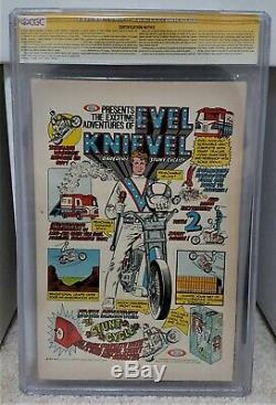 Amazing Spider-man # 129 (1974) Cgc 7.5 Ss 2x Signature Stan Lee & Romita Auto