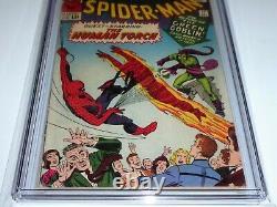 Amazing Spider-man #18 Cgc Ss Signature Autographe Stan Lee 1st Ned Leeds Sandman